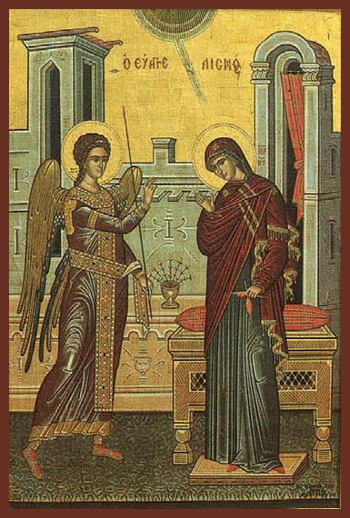 The Annunciation to the Mother of God
